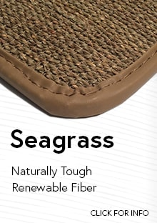 Link to for more information on Cocomats.com sea grass material