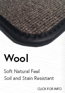 Link to for more information on Cocomats.com wool material