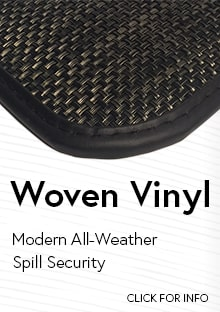 Link to for more information on Cocomats.com Woven Vinyl material